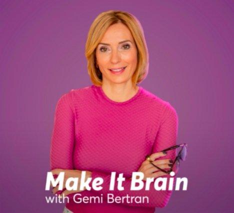 Gemi Bertran's Nourish the Brain Institute: Make it brain